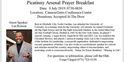 Picatinny Arsenal Prayer Breakfast