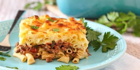Taste of Greece Cooking Class - Winter Warmth Featuring Pastitsio tickets