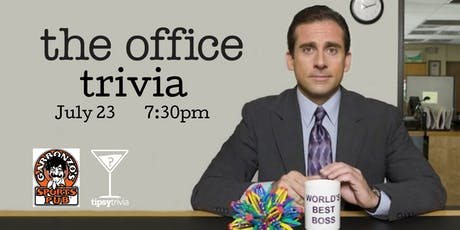The Office Trivia - July 23, 7:30pm - Garbonzo's tickets