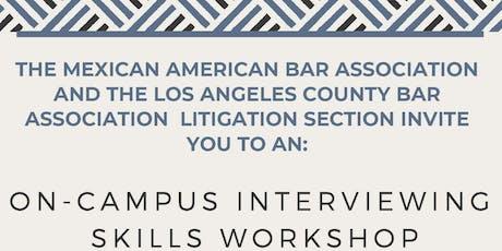 On-Campus Interviewing Skills Workshop  tickets