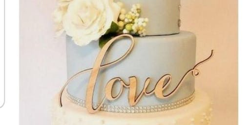 Brides to be wedding cake extravaganza (Complimentary Cake and Wine)