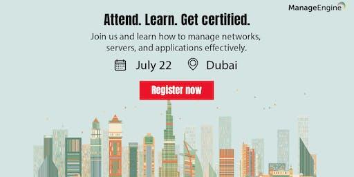 ManageEngine IT Operations Management workshop - Dubai