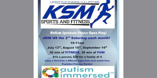Autism Spectrum Fitness Open Play Dates