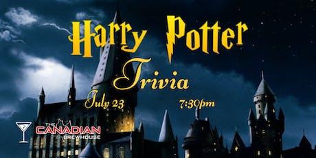 Harry Potter Trivia - July 23, 7:30pm - Canadian Brewhouse Mahogany tickets