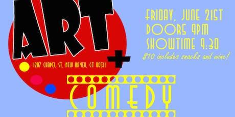 Art Plus Comedy Showcase tickets