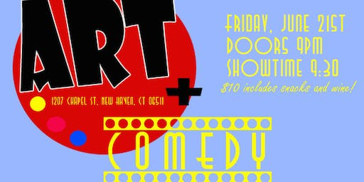 Art Plus Comedy Showcase