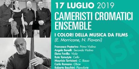 PESARO MUSIC SUMMER FESTIVAL - Cameristi Cromatici biglietti
