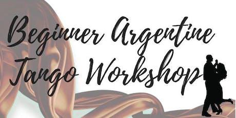 Beginner Argentine Tango Workshop tickets