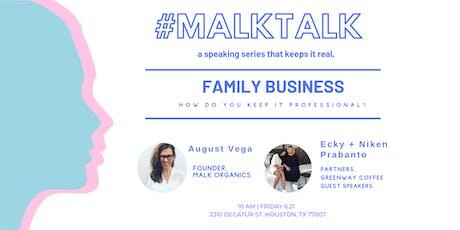 #MALKtalk Series tickets