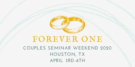Forever One Couples Seminar 2020/2021 tickets