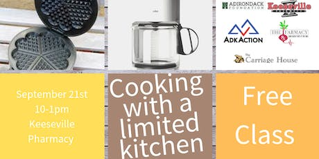 Cooking with a Limited Kitchen tickets