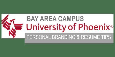 SAN JOSE: Personal Branding & Resume Tips tickets