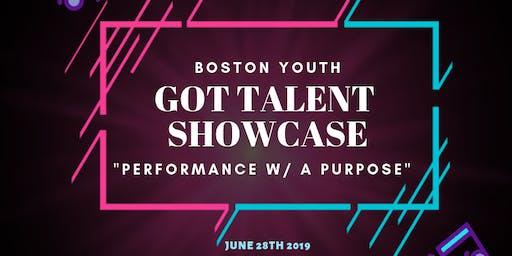 Got Talent Showcase- Performance w/ Purpose