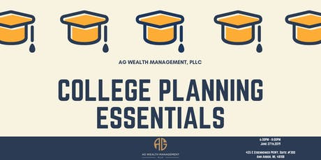 Personal Finance 101: College Planning Essentials tickets