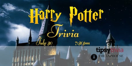 Harry Potter Trivia - July 30th, 7:30pm - Taphouse Coquitlam  tickets