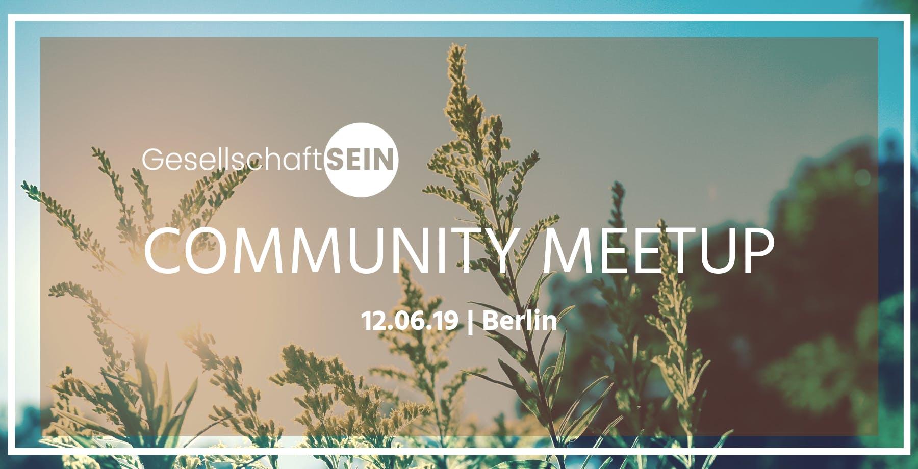 Community Meetup - Naturerfahrung - Picknick