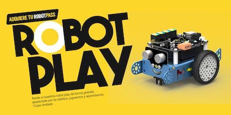 ROBOT PLAY (juguemos y aprendamos robótica) entradas