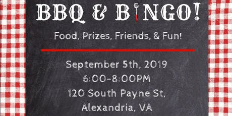 Friends of Guest House 45th Anniversary - BBQ & BINGO tickets