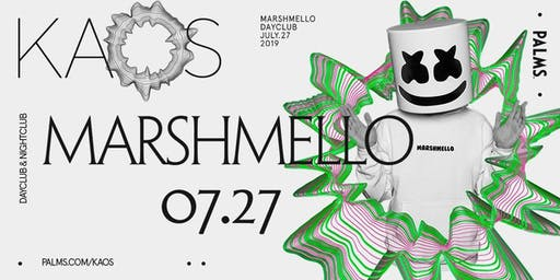 7.27 Marshmello @ KAOS Dayclub Las Vegas