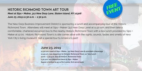 New Dorp Arts - Historic Richmond Town Museum Tour (Meet in New Dorp) tickets