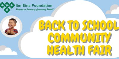 2019 BACK TO SCHOOL HEALTH FAIR- FREE BACKPACKS AND FREE HEALTH SERVICES