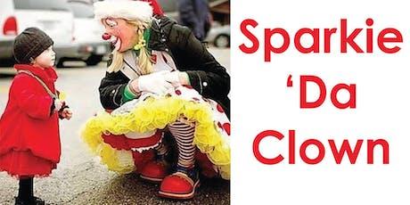 Getting Spacey with Sparkie Da Clown tickets
