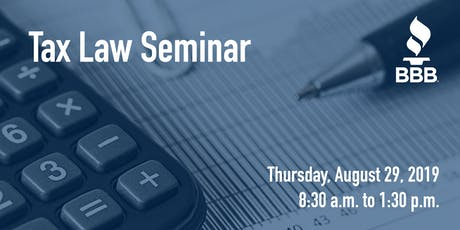 Free Tax Law Seminar tickets