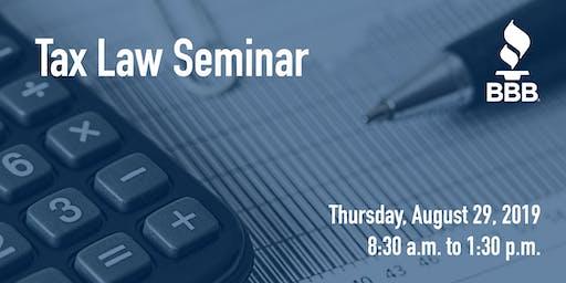 Free Tax Law Seminar