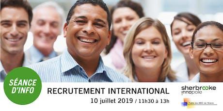 Séance d'information | Recrutement international à Paris et en Tunisie tickets