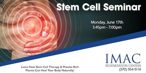 IMAC Regeneration Centers Stem Cell Seminar - 6/17