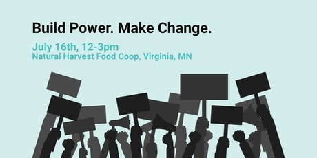Build Power Make Change tickets