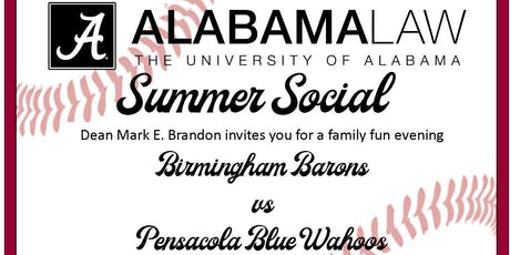 Alabama Law Alumni Event | Birmingham Barons v. Pensacola Blue Wahoo tickets