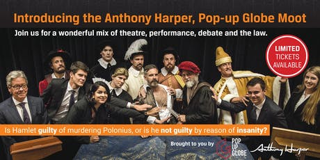The Anthony Harper, Pop-up Globe Moot tickets