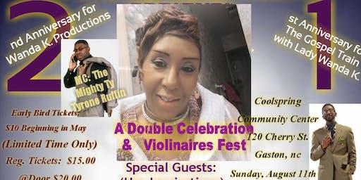 Double Anniversary Celebration for Radio Angel/Quartet Diva/Gospel Promoter Lady Wanda K.