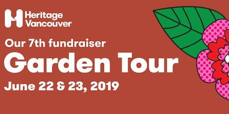 2019 Heritage Vancouver Garden Tour tickets