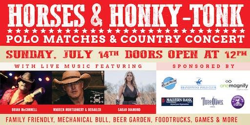 Horses & Honky-Tonk Country Concert, Polo Matches, Family Fun & More...