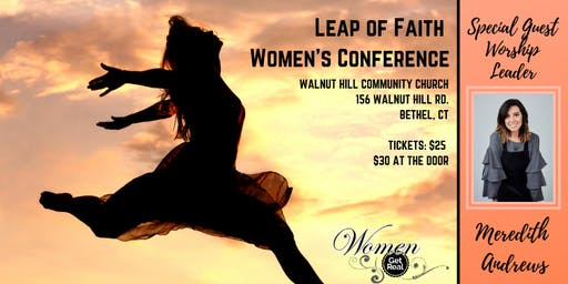 Leap of Faith Women's Conference with Meredith Andrews