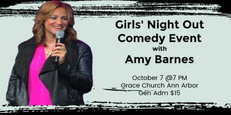 Ladies' Night Out Comedy Event with Amy Barnes in Ann Arbor, MI tickets