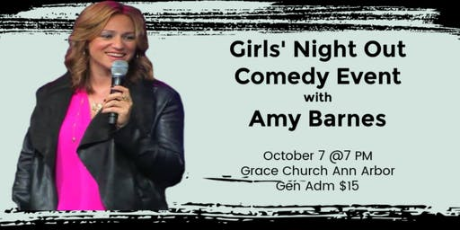 Ladies' Night Out Comedy Event with Amy Barnes in Ann Arbor, MI