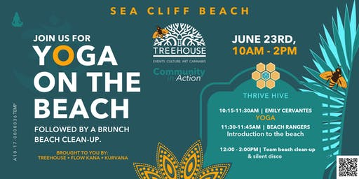 ThriveHIVE - Beach Clean Up Event