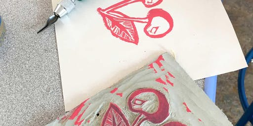 Class: Projects in Block Printing - Personal Stationary (Ages 16+)