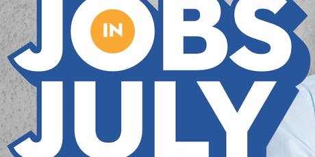 Jobs in July - Exhibitor Registration tickets