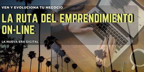 Conferencia - La Ruta del Emprendimiento On-line entradas
