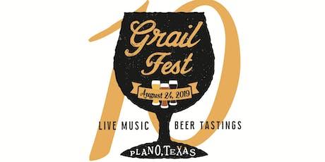 Grailfest 2019 tickets