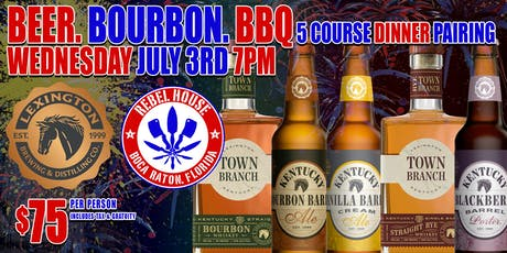BEER, BOURBON, AND BBQ FEST at Rebel House tickets