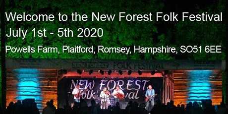 New Forest Folk Festival July 2020 tickets