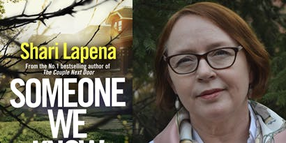 AN EVENING OF CRIME & WINE WITH SHARI LAPENA