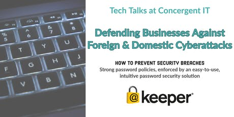Tech Talks at Concergent IT with Keeper Security tickets