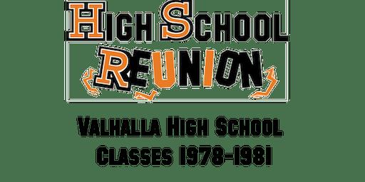 Valhalla High School Class of 1978-1981 - Class Reunion