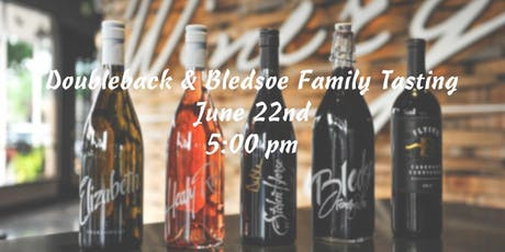 Wine Tasting: Doubleback & Bledsoe Family Winery tickets